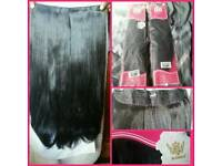 "2 PACKS OF THICK AND GLAMOROUS 24"" CLIP IN HAIR EXTENSIONS"
