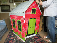 Childs cardboard play house