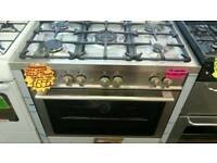 BAUMATIC RANGE 90CM GAS COOKER IN SILVER ☆BRAND NEW☆