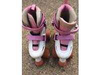 Girls roller skates size 12 uk