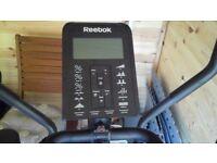 Cross trainer exercise bike reebok