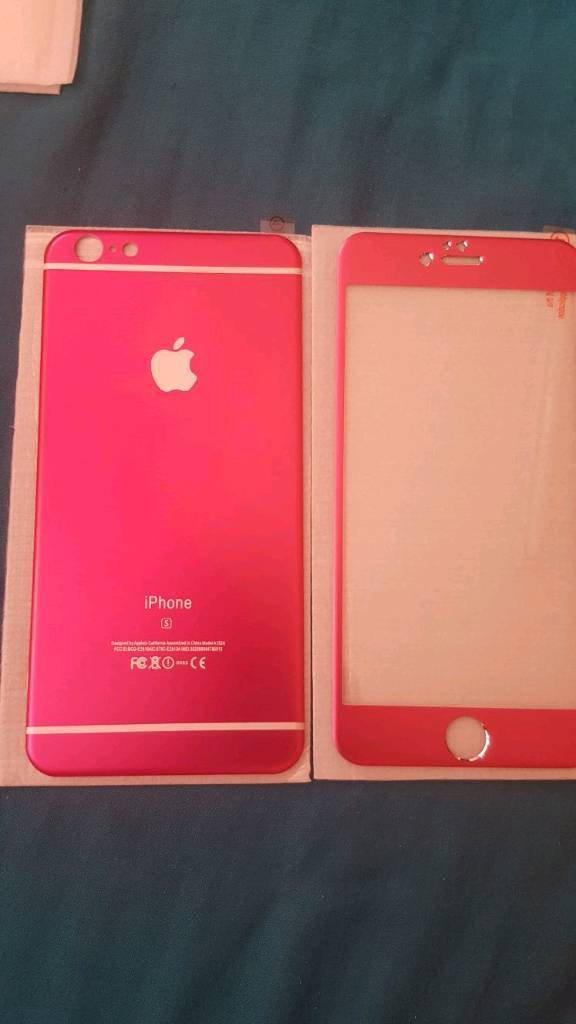 IPhone 6s/6s Plus ALUMINIUM TEMPERED SCREEN PROTECTORin Bradford, West YorkshireGumtree - IPhone 6s/6s Plus ALUMINIUM TEMPERED SCREEN PROTECTOR. Brand New ALUMINIUM TEMPERED SCREEN PROTECTOR plate Front and Back, in rose pink. Gives your phone a new look. Please RING TEXT WONT BE REPLIED TO