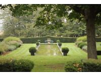 GARDENING and GROUND MAINTENANCE COUPLE WANTED - Chateau in the Loire Valley, France