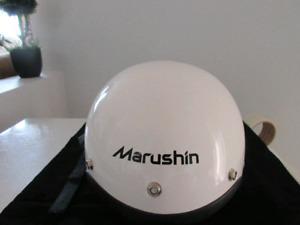 Nice clean motorcycle helmet