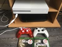 Xbox one s 500gb with rock candy controller and games