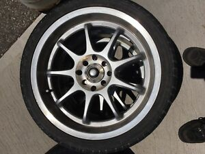 Multi fit 4 bolt 17 tire and rim package