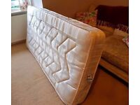 Single 3ft sprung mattress in excellent spotlessly clean condition