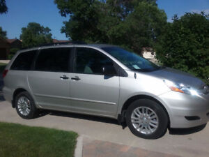 All Wheel Drive (AWD) 2010 Toyota Sienna CE Minivan, Van