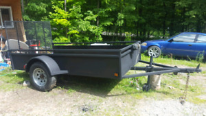 15ft utility trailer with small winch