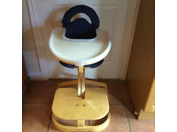 Svan High Chair Set and Svan Chair - (Svan of Sweden)