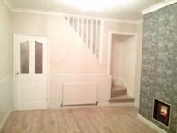 3 Bedroom house 2 W/C 2 Receptions with Garden available to rent