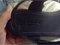 TIMBERLAND LADIES/TEENS NAVY SANDALS SIZE 6 NEW IN BOX
