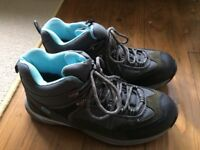 Site brand, Womens size 6 steel toe cap boots