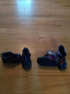 Size 2 and 4 baby shoes