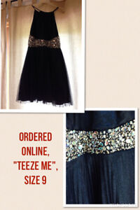 Navy Dress, Perfect for a Wedding or Formal Event