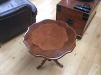 Occasional Table and Lamp for Sale