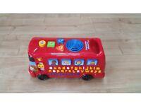 ELC bus with sounds, music, alphabet