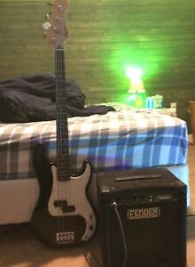 Bass and amp for sale