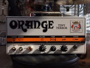 Amp/Ampli ORANGE TINY TERROR 15w/7w Tête/Head en MINT CONDITION