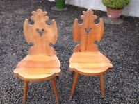 2 Antique chairs