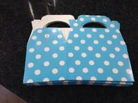 Party Boxes - Blue & Pink available BRAND NEW