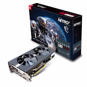 Radeon 570 Nitro 8GB New Sealed (9 Available)