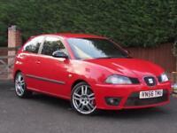 2006 SEAT Ibiza 1.9 TDI CUPRA 160PS, RED, MANUAL, DIESEL,