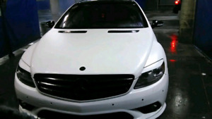 2007 Pearl wrapped Mercedes Benz CL 550 AMG package