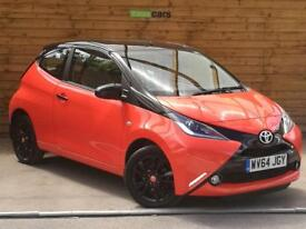 Toyota Aygo 1.0 VVT-i X-Cite 3dr ONE PRIVATE OWNER (orange twist) 2014