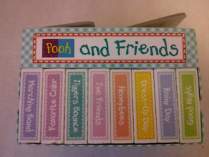 @ 10 like new Winnie the Pooh and Friends block books set