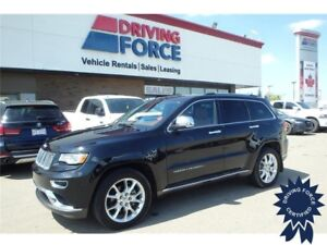 2015 Jeep Grand Cherokee Summit 4x4 - 27,775 KMs, 5 Passenger
