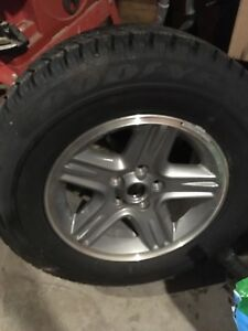 Stock jeep rim never installed