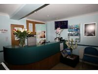 dentalnurse vancancy in south croydon family practice. experience preffered , but not essential