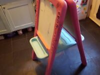 Kids Easel and Drawing Chalkboard