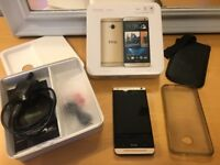 HTC One m7 Gold Unlocked 32GB