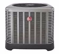 Top of The Line RHEEM Air Conditioners on Sale with Install!