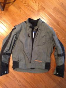 BMW Boulder Jacket , boots and gloves.