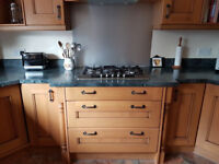 Fully Fitted Croft Oak Kitchen