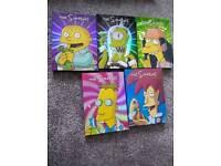 Simpsons dvd set seasons 1-17