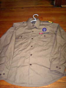 Official Wolf Cub Uniform Dress Shirt with Patches