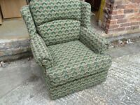 Single Reading Sofa Armchair Delivery Available