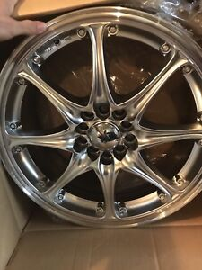 "BRAND new 17"" wheels 5on100-112 great deal $460 OBO"