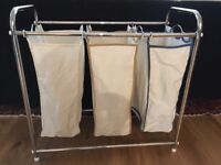 3 bag laundry basket