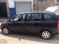 Cheap car of the day 2000 Vauxhall Zafira 7 seater automatic, starts and drives well, car located in