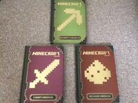 3 x Minecraft Handbooks - Beginners, Combat & Redstone Can Post!