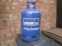 15 kg calor gas bottles