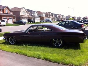 65 Impala SS with air ride suspension!
