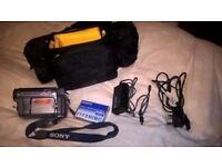 SONY HANDYCAM MODEL-CCD-TRV228E,HARDLY USED.
