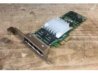Intel PRO/1000 PT Quad Port Gigabit PCIe Network Ethernet Card NIC - Collect Newmarket (Nr Cambridge