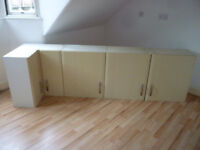Kitchen units - surplus second hand kitchen units good condition. Various sizes wall, base and draw